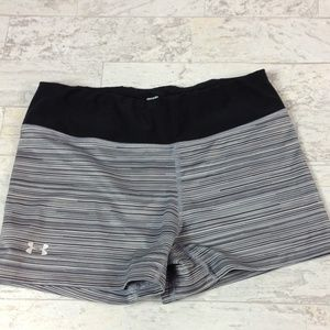 Under Armour fitted compression shorts